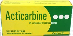Acticarbine, comprimé enrobé