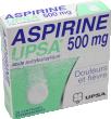 Aspirine upsa 500 mg, comprimé effervescent